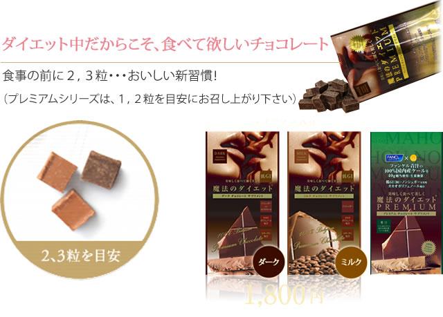 ダイエット中だからこそ、食べて欲しいチョコレート